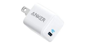 iPhone 12に最適!世界最小・最軽量充電器 ANKER PowerPort III Nano 20W