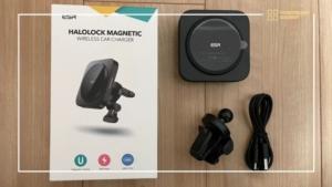ESR HALOLOCK iPhone12専用MagSafeでくっつく&ワイヤレス充電できる車載ホルダーレビュー
