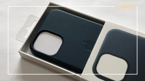 Apple純正MagSafe対応レザーケース レビュー   iPhone12 miniと合わせると完全体になります